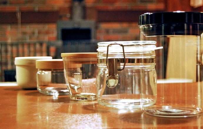 コーヒー豆保存容器