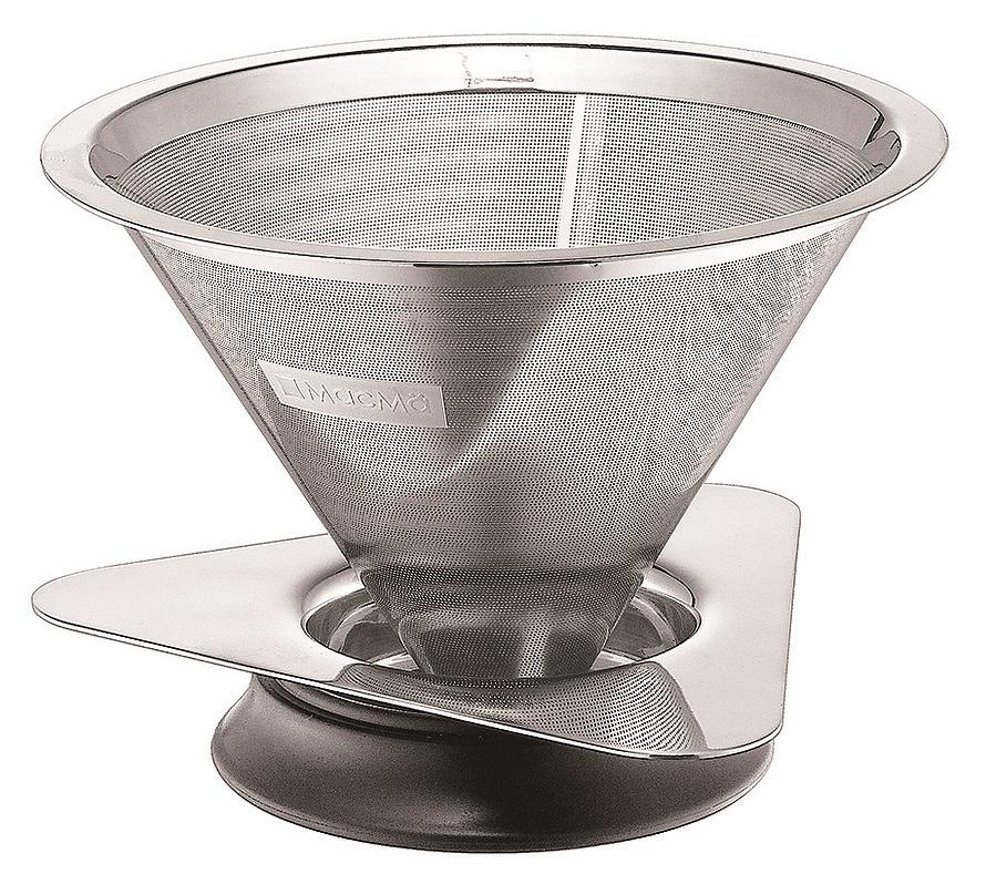 マックマー カフェメタル メッシュ型コーヒードリッパー