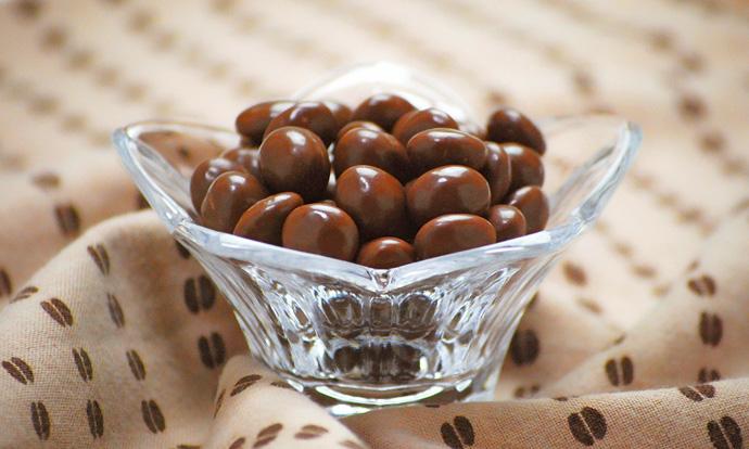 コーヒー豆チョコレート