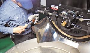 コーヒー豆の焙煎(ロースト)チェック